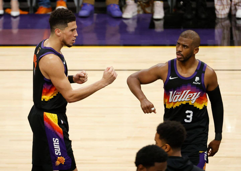 2021 NBA Finals: Booker, Suns top Giannis, Bucks, to take 2-0 lead