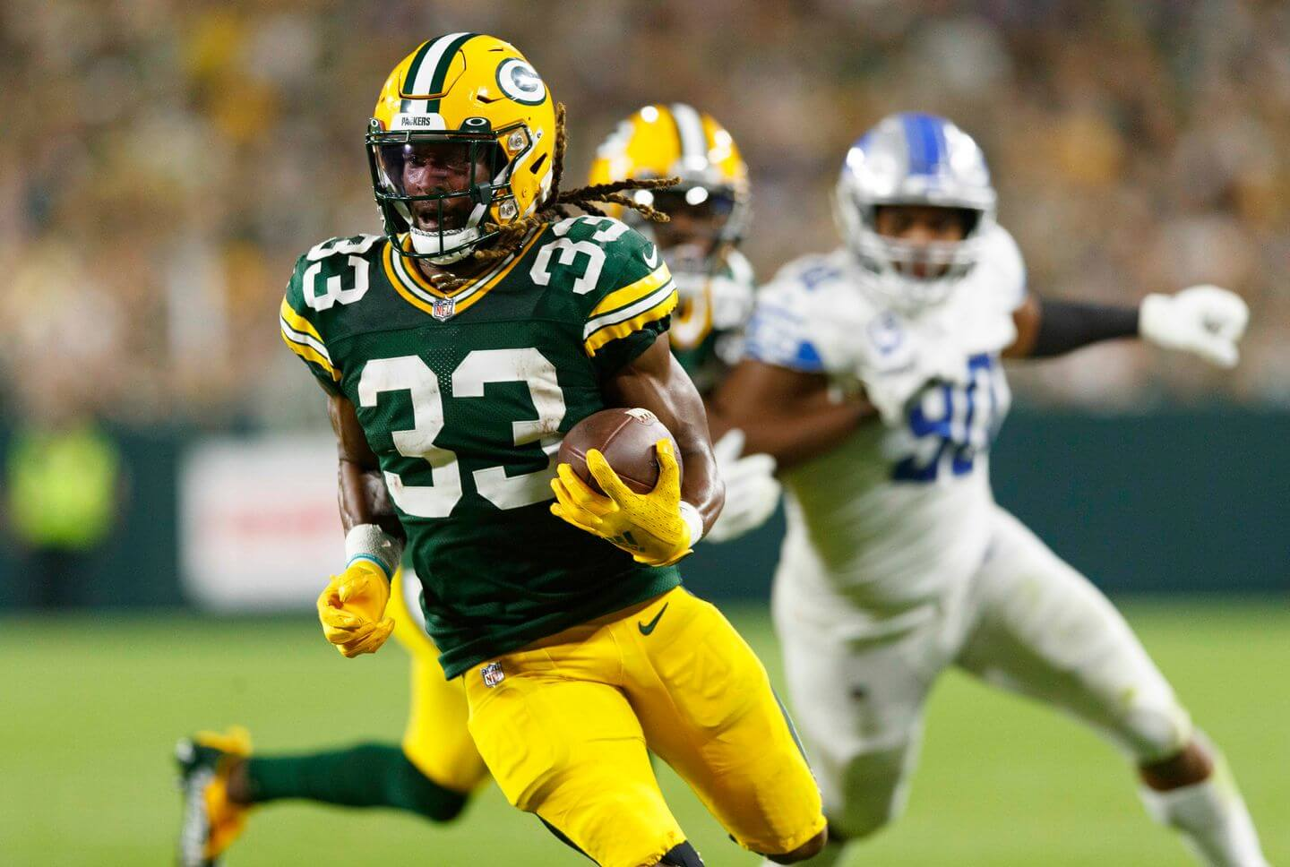 Lions vs. Packers score: Aaron Jones' big performance, live updates, Monday  Night Football highlights, stats, reaction - The Athletic