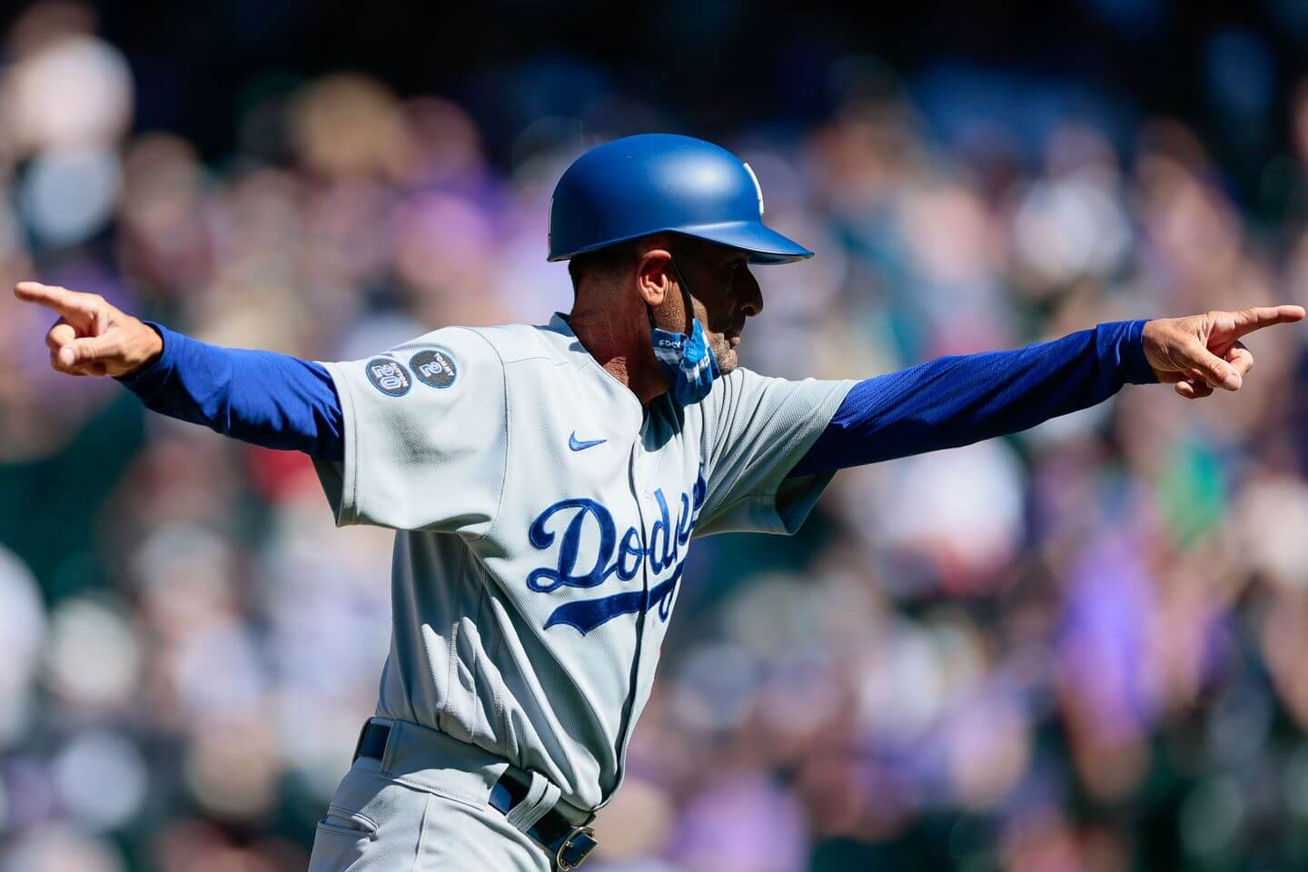 Base-running miscue costs Cody Bellinger a home run in Dodgers-Rockies game