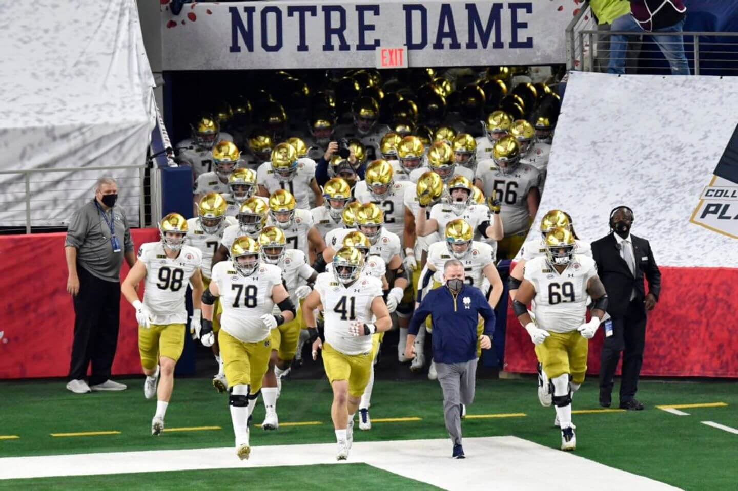 Bye-rish: Notre Dame locked out of playoff bye