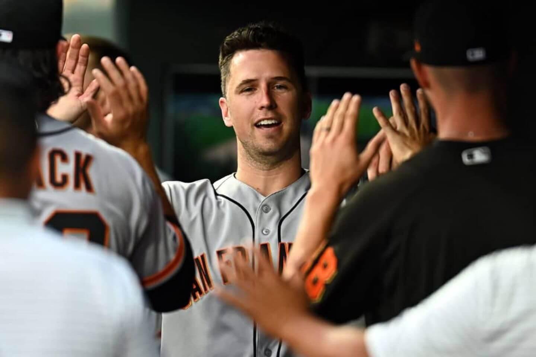 Trio of Giants make team history