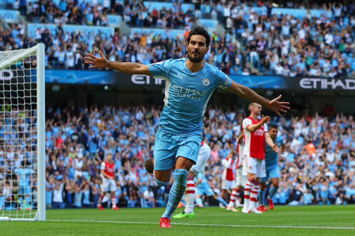 Man City vs Arsenal live score and result updates: Premier League game latest as Mikel Arteta's side are thrashed