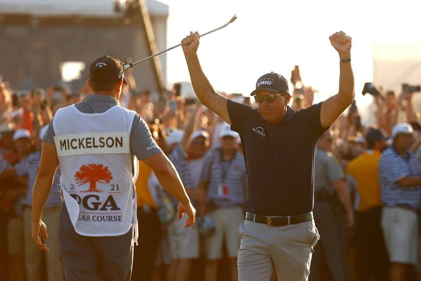 2021 PGA Championship: Phil Mickelson makes history, becomes oldest major champion ever with his win at the Ocean Course