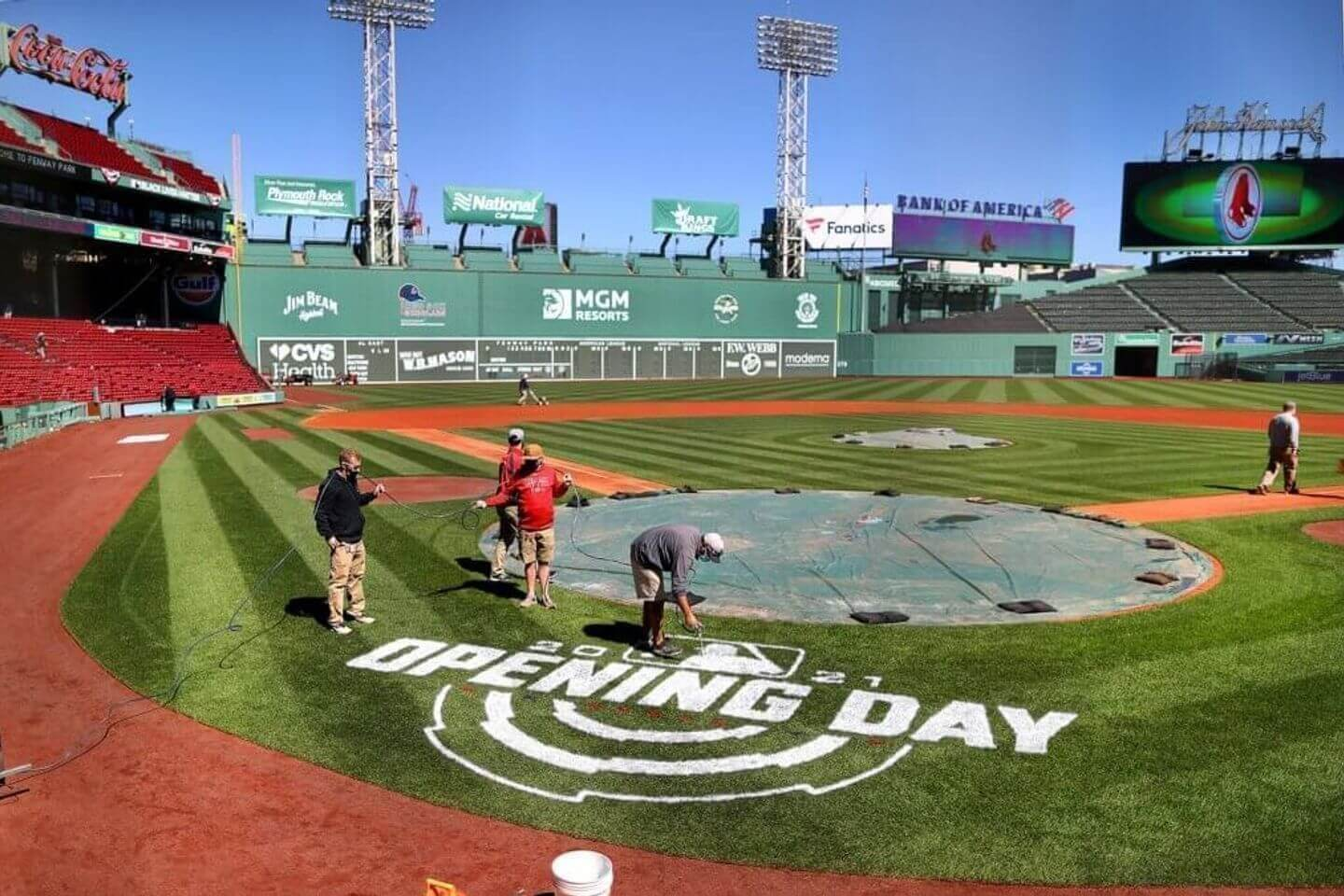 MLB Opening Day 2021: Live updates, schedule, scores, TV channels for the today's lineup of games