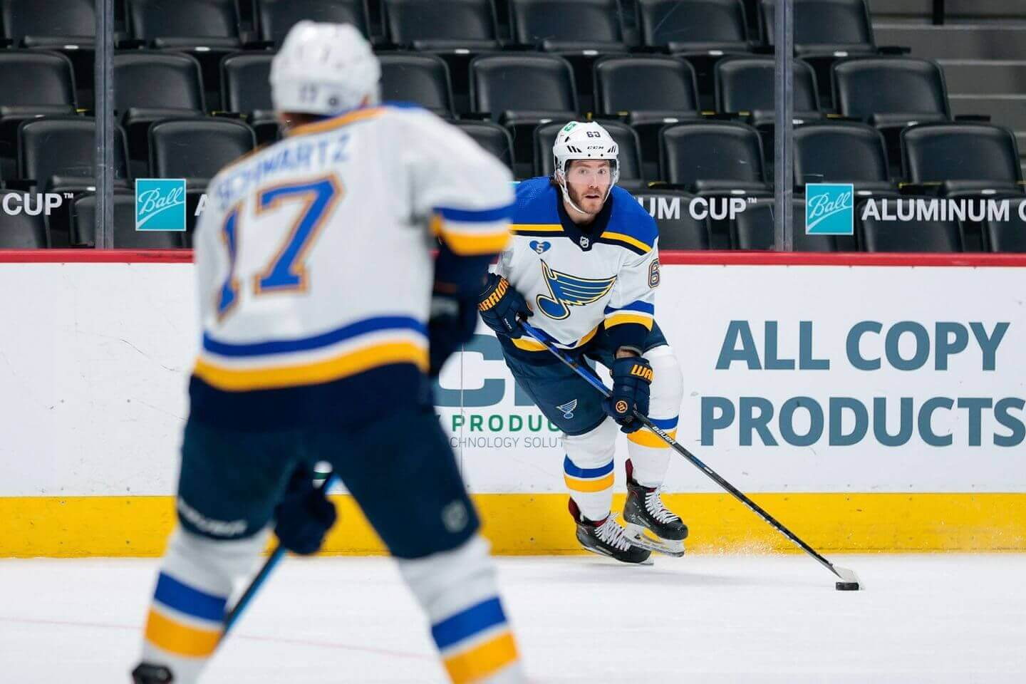 Will the Blues move Mike Hoffman?