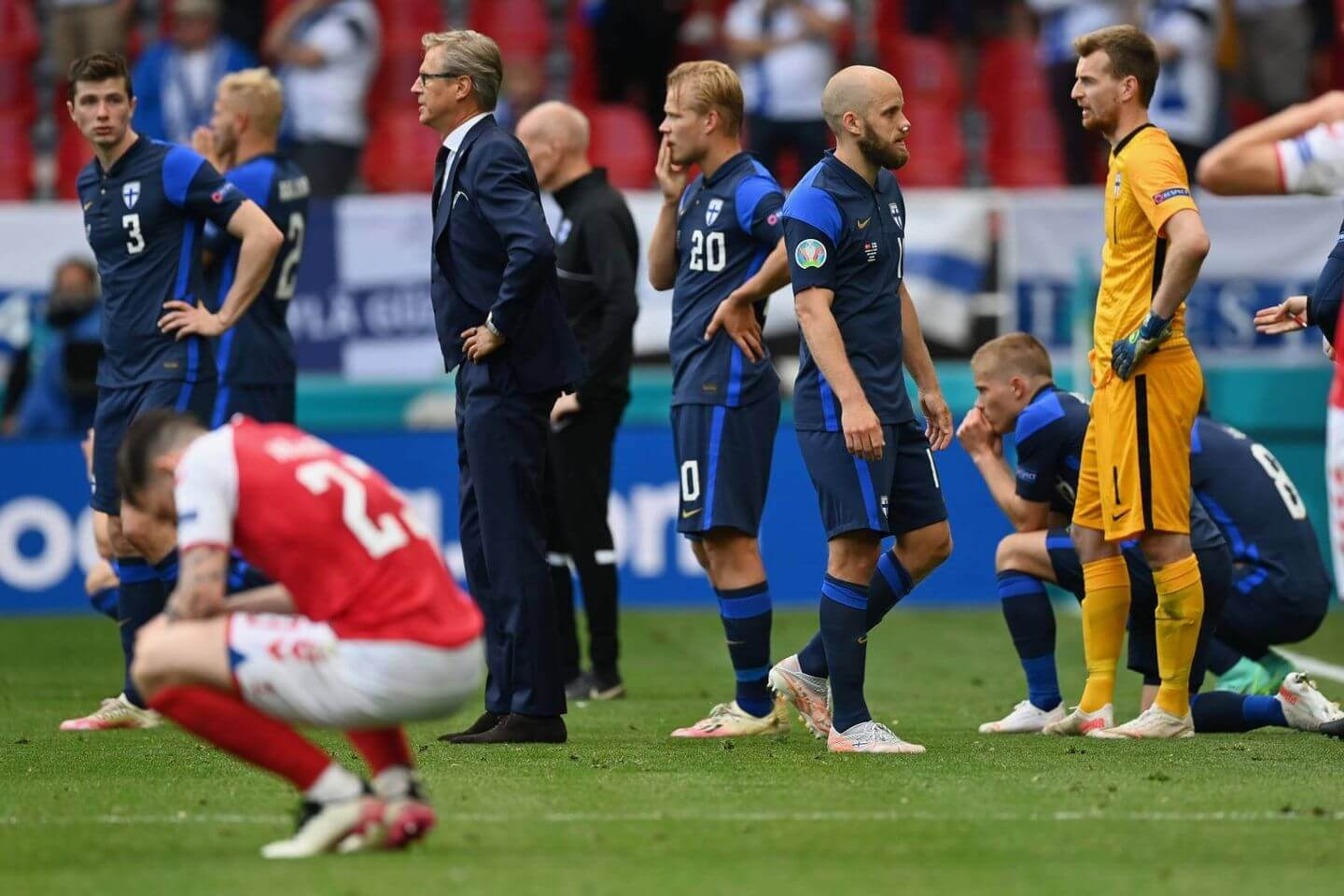 Denmark Game at Euro 2020 Suspended After Eriksen Collapses