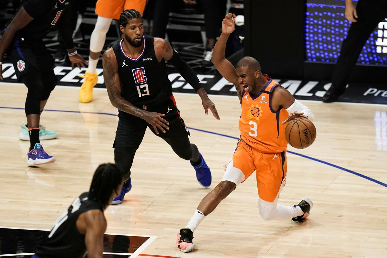 Suns 130, Clippers 103: Chris Paul destroys LA with 41 points as Phoenix  advances to NBA Finals - The Athletic